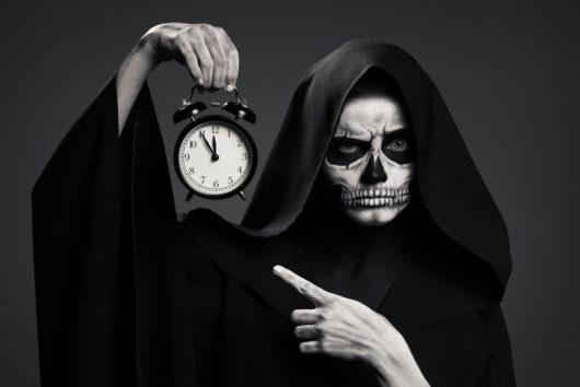 Horloge mort vivant