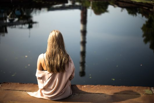 femme tranquilite