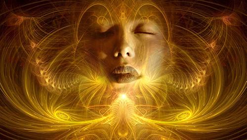 femme yeux fermés conscience esprit éveil spirituel mika denissot