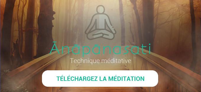 Télécharger la méditation Anapanasati