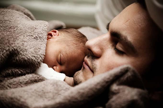 pere et bebe amour