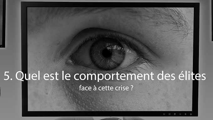 comportement des elites face a la crise