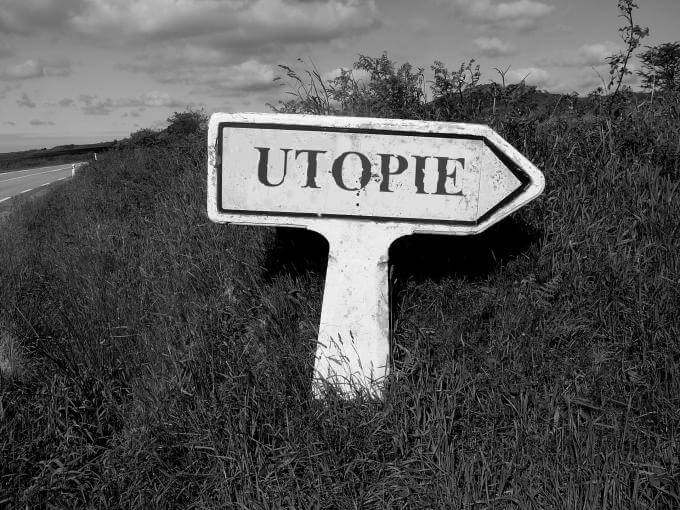 Panneau utopie