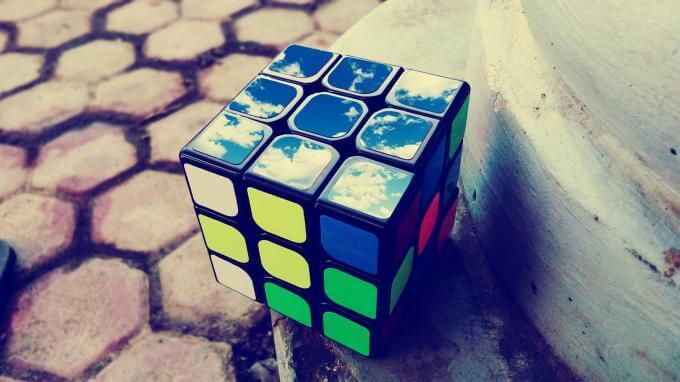 Rubik cube pour combler l'ennuie