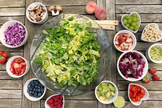 Changement etat d esprit salade fruit legume vegan
