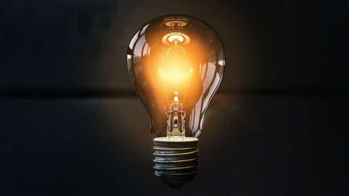 Ampooule lumiere idee